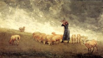 winslow-homer-shepherdess-tending-sheep-22134