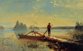 Winslow_Homer_-_An_Adirondack_Lake