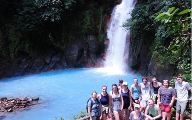 Kristine waterfalls
